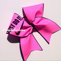 Just do it! Nike pros custom  Cheer Bow Competition Bow