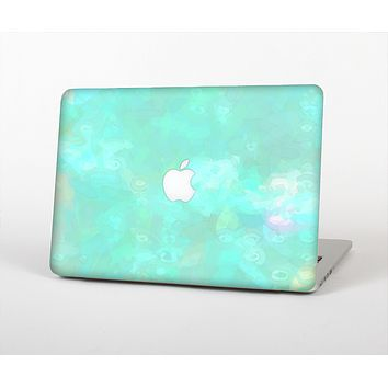 """The Bright Teal WaterColor Panel Skin for the Apple MacBook Air 13"""""""