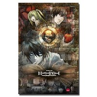 DEATH NOTE POSTER Amazing Collage Skull RARE HOT NEW