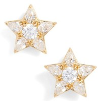 Nadri Reminisce Cubic Zirconia Star Earrings | Nordstrom