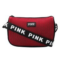 Victoria Pink Fashion New Letter Print Shopping Leisure Shoulder Bag Women