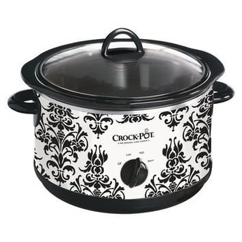 Crock-Pot Patterned Slow Cooker 4.5-qt.