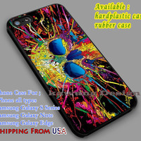 Trippy Skull | Colorful iPhone 6s 6 6s+ 6plus Cases Samsung Galaxy s5 s6 Edge+ NOTE 5 4 3 #art dl2