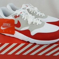 "Nike Air Max 1 Ultra 2.0 LE ""Air Max Day"" 3.26 White Red 908091-100 Size 11"