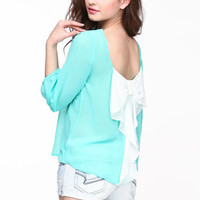 Bow Back Blouse - LoveCulture