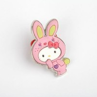 Hello Kitty Collector's Pin: Pink Bunny