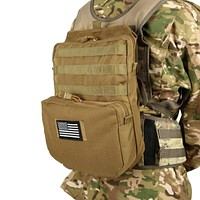 Outdoor Tactical Molle Nylon Hydration Bag Hunting Camouflage