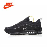 Original New Arrival Authentic Kappa X Nike Air Max 97 Women's Running Shoes Sport Outdoor Sneakers Good Quality AJ1986-007