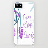 Never Stop Dreaming iPhone Case by jlbrady213 & KBY   Society6