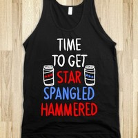 """Time To Get Star Spangled Hammered ( Red, White, Blue)"" 