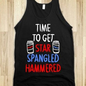 """""""Time To Get Star Spangled Hammered ( Red, White, Blue)""""  """