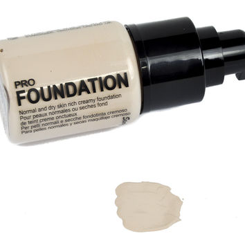 Translucent Pale Dollface Foundation Cosplay Gothic Makeup