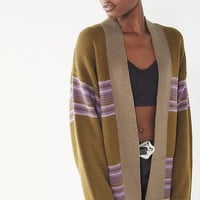 UO Kassi Striped Cardigan | Urban Outfitters