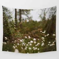 Forest Wall Tapestry by Sushibird