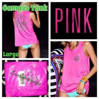 VS PINK Campus Tank Top