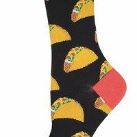Taco Women's Crew Socks - LAST PAIR!