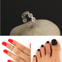 Stylish Jewelry New Arrival Gift Shiny Hot Sale Summer Floral Ring [4918838276]