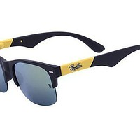 Ray Ban Clubmaster Color Mix RB4175 Yellow Sunglasses