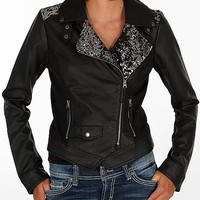 BKE Pieced Sequin Jacket