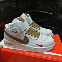Nike Air Force 1 07 Premium high-top casual men's and women's sneakers shoes