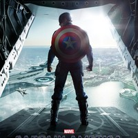 Captain America: The Winter Soldier (2014) : Movie Poster (Thick Poster) Original Size 24x36 Inches - Chris Evans, Frank Grillo, Scarlett Johansson