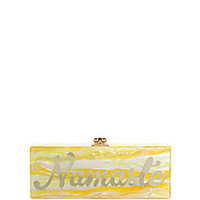 Edie Parker - Flavia Namaste Acrylic Clutch - Saks Fifth Avenue Mobile