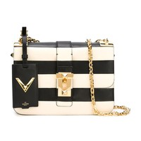 Valentino Black & White Rockstud Chain Bag - Black & White Rockstud