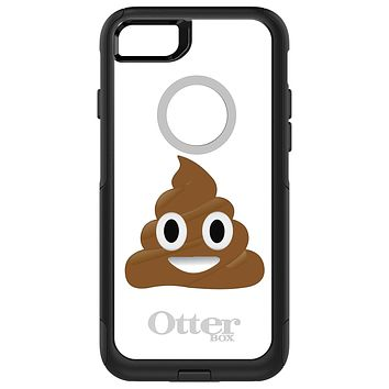 DistinctInk™ OtterBox Commuter Series Case for Apple iPhone or Samsung Galaxy - Poop Emoji