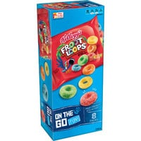 Walmart: Kellogg's Froot Loops Cereal Pouches, 0.9 oz, 8 count