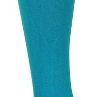Ozone Women's High Zone Socks, Turquoise, One Size