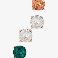 Rhinestone Stud Earring Gift Set from EXPRESS