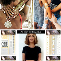 FLASH TATTOOS INSPIRED BY BEYONCE