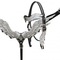 Black and white wings tack set