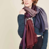 Of a Different Colorblock Scarf in Americana | Mod Retro Vintage Scarves | ModCloth.com