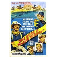 SHE WORE A YELLOW RIBBON movie poster john wayne FIGHTING CALVARY 24X36