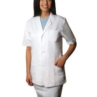 Buy Adar Womens 30 inch Short Sleeve Consultation Lab Coat for $22.45