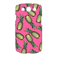 Treasure Design Funny Pineapple Pattern Samsung Galaxy S3 9300 3d Best Durable Case