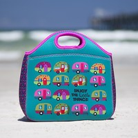 Campers  Little  Things  Neoprene  Lunch  Bag  From  Natural  Life