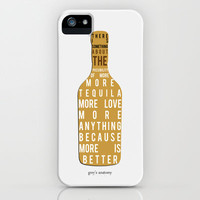 Greys Anatomy: The Problem Is Tequila iPhone & iPod Case by drmedusagrey