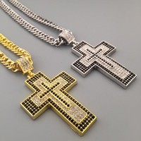 Jewelry Stylish Shiny Gift New Arrival Hot Sale Fashion Hip-hop Club Necklace [6542719171]