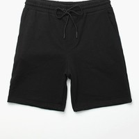 On The Byas Spade Dye Fleece Shorts - Mens Shorts - Black