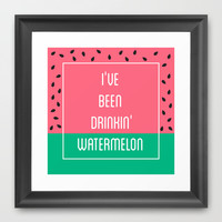 Beyonce Said It Best Framed Art Print by Pencil Me In ™