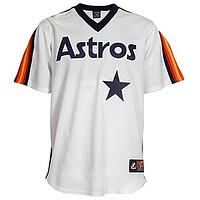 Luis Gonzalez Houston Astros Majestic MLB Cooperstown Replica Jersey