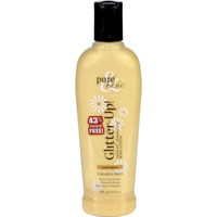 Pure and Basic Body Lotion - Glitter Up - Gold Glitter - 9 oz