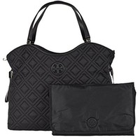 Tory Burch Quilted Slouchy Baby Bag