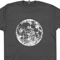 Full Moon T Shirt Astrology Shirt Astronomy T Shirt Asteroids Nasa Space T Shirt