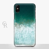 Ocean Phone Case For iPhone 8 iPhone 8 Plus - iPhone X - iPhone 7 Plus - iPhone 6 - iPhone 6S - iPhone SE - Samsung S8 - iPhone 5