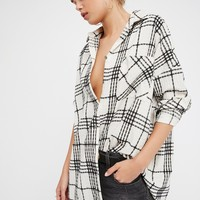 Free People Rainy Year Buttondown