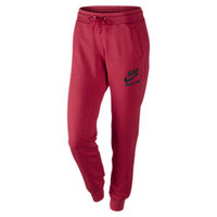 The Nike Track and Field Vintage Read Women's Cuffed Pants.