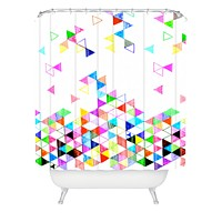 Fimbis Falling Into Place Shower Curtain